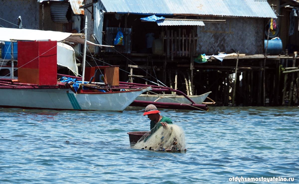 port-rybak-lovit-rybu-philipiny