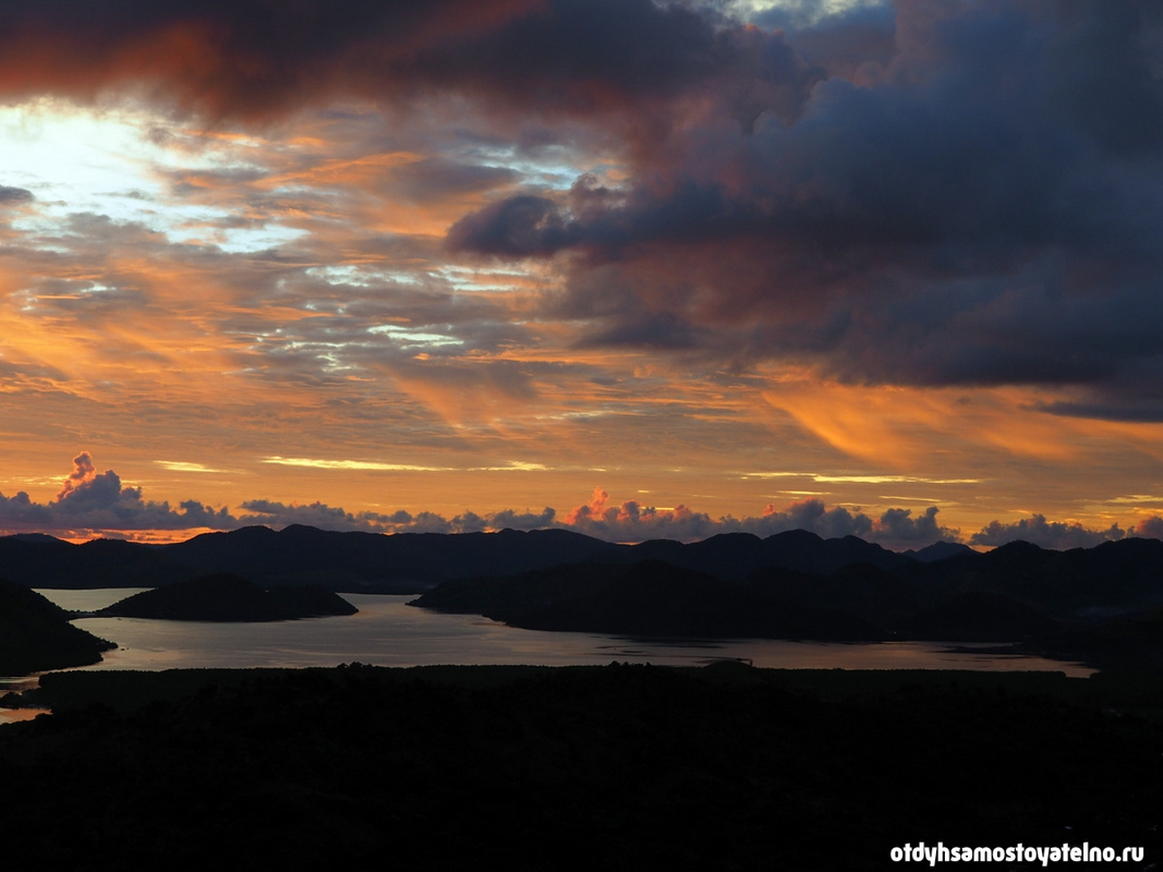 Фото невероятного заката - Филиппины