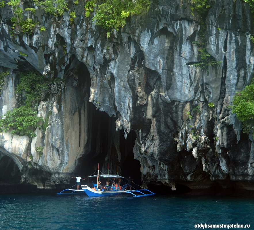 cathedral cave elnido