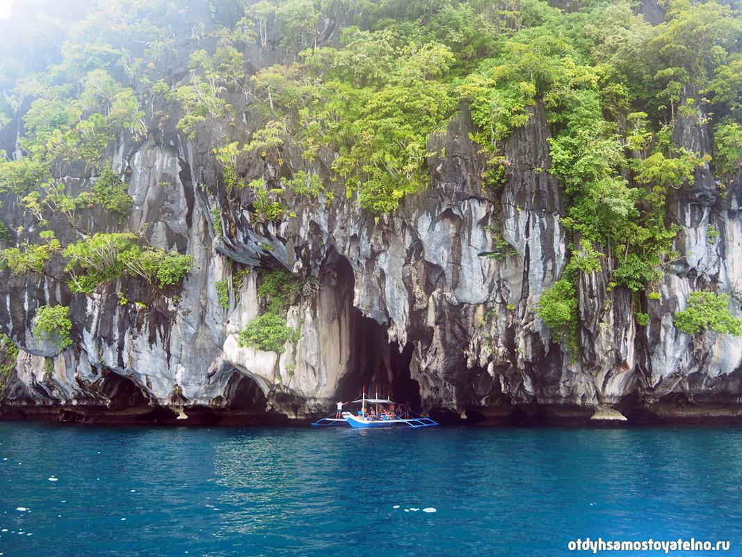 Пещера и скалы, Филиппины