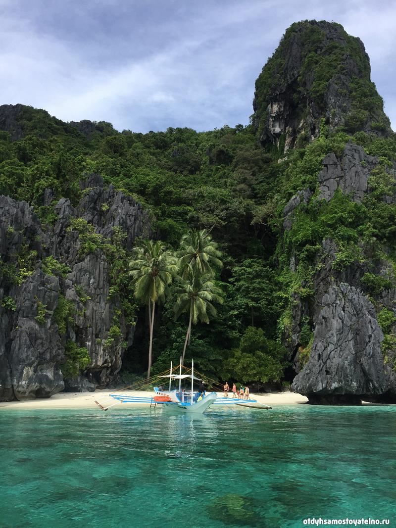 лодочные тур на остров entalua elnido