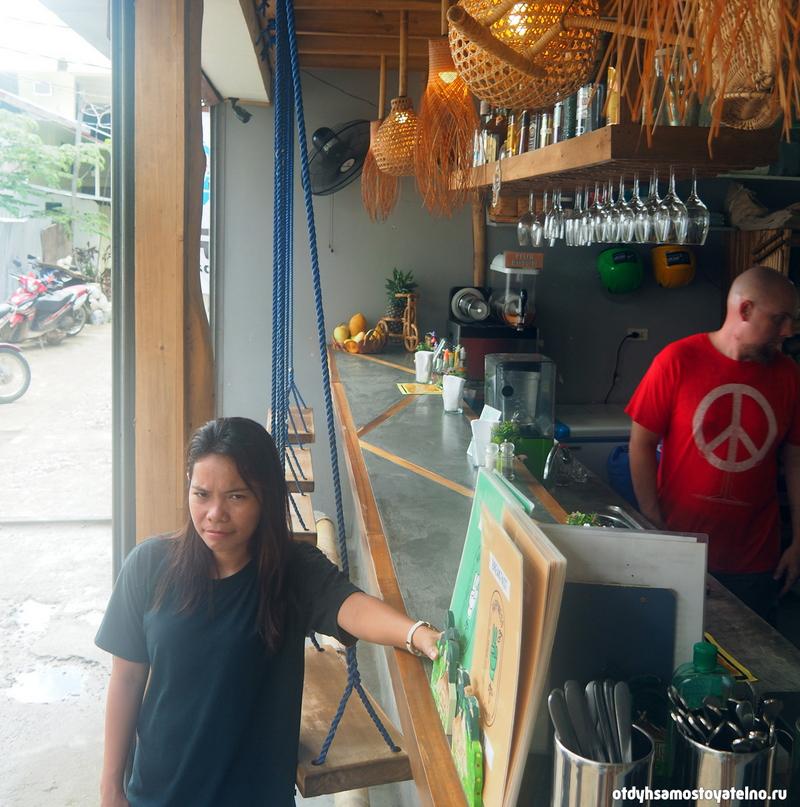 Кафе в эль нидо на Филиппинах