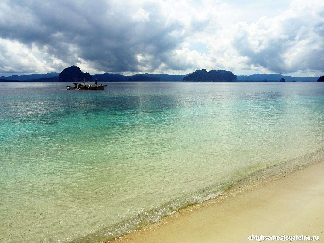 пляж entalua - невероятные виды филиппин