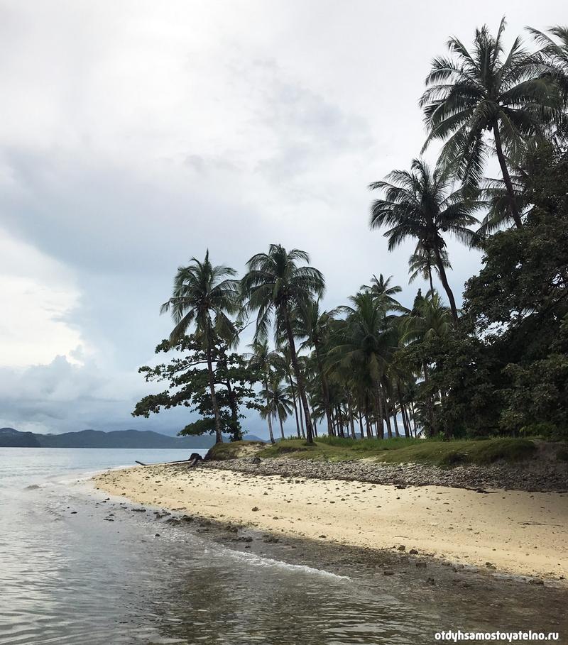 plyazh pinagbuyutan island philipiny