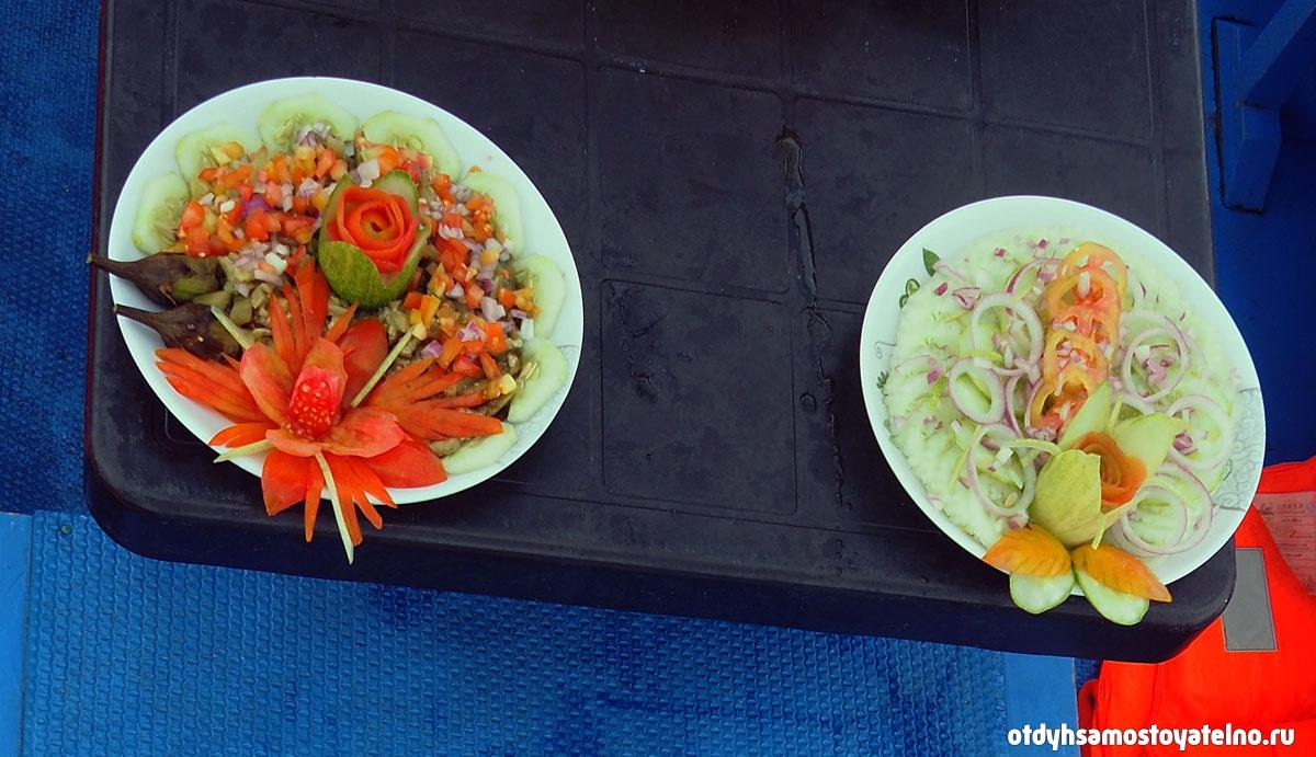 salat obed lodka elnido