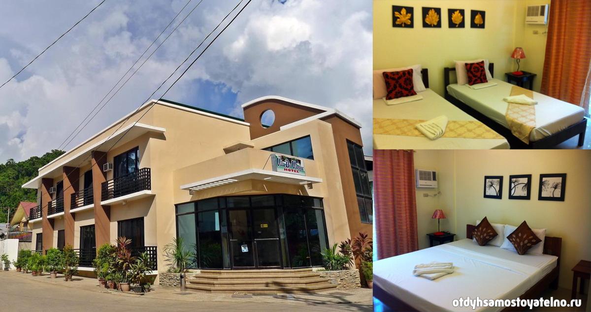 villa del vincejos hotel elnido philipiny