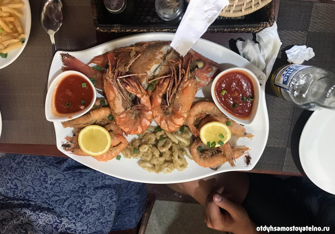 морепродукты Филиппины