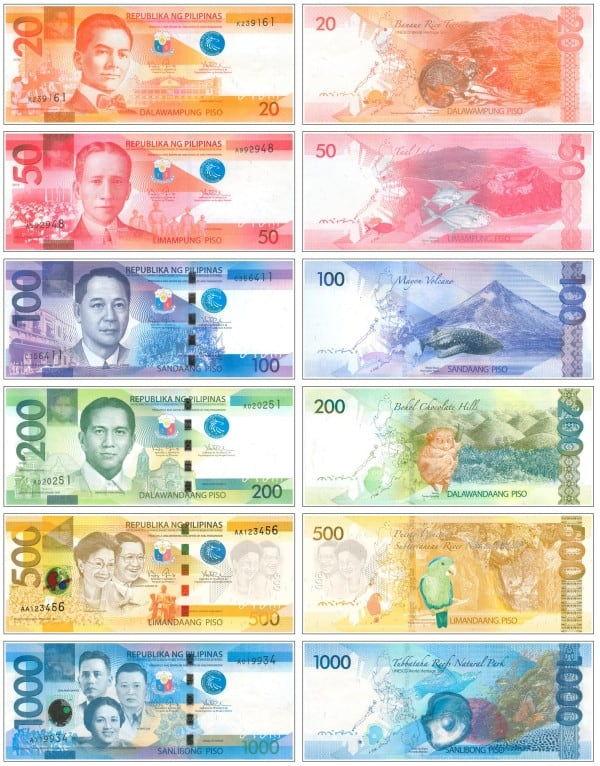 Валюта Филиппин - Песо