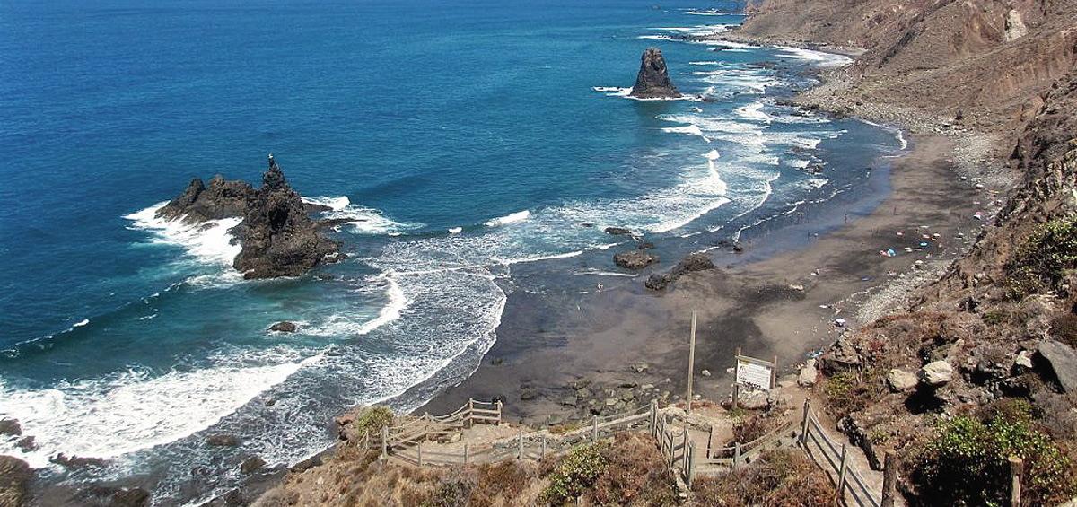 пляж de benijo tenerife