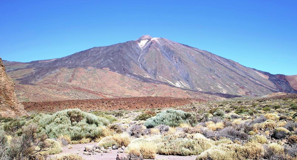 Вулкан Тэйде, Тенерифе