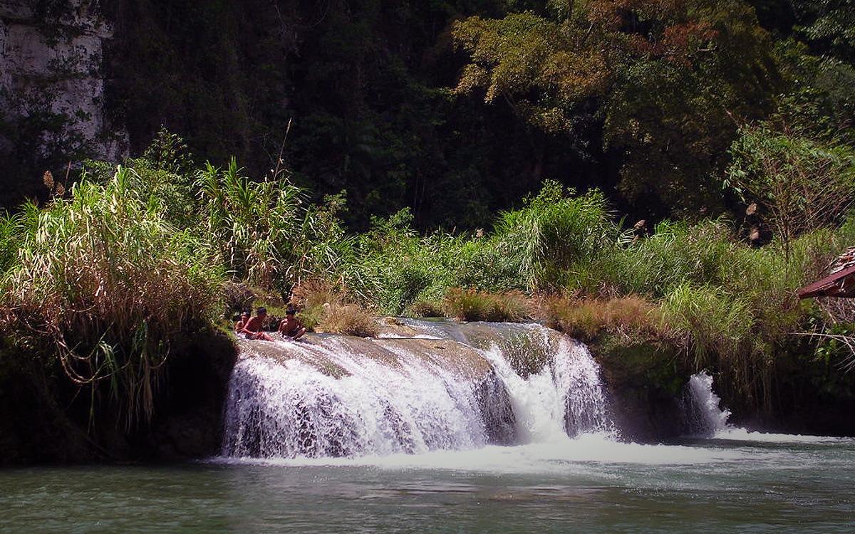 Водопады Бусай