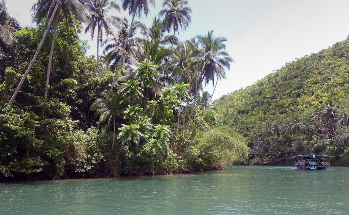 Сплав по рекам Лобок и Инабанга