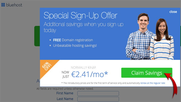 claim_savings_bluehost