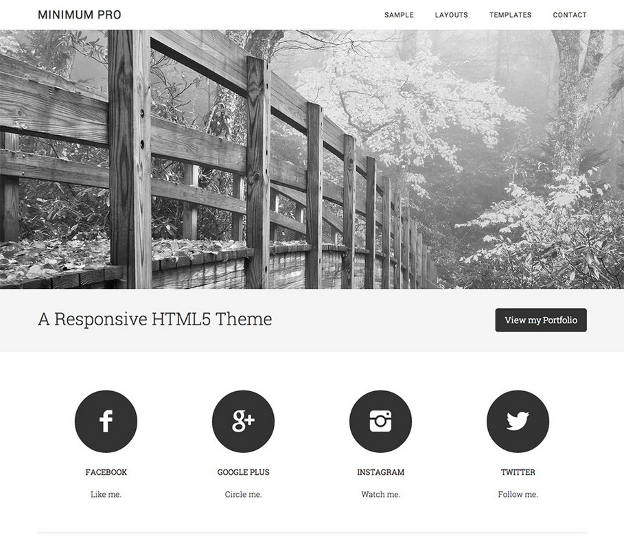 Тема Minimum Pro by StudioPress для WordPress
