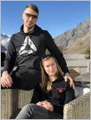 Настя Ханеня и Андрей Салохин