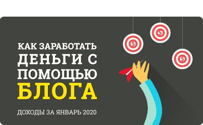 Отчет как заработать деньги с помощью блога 2020