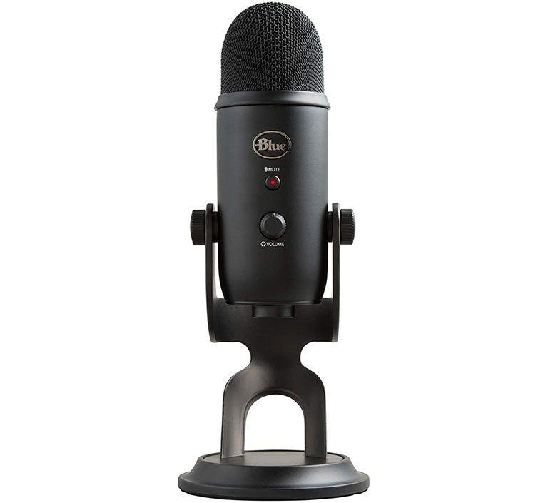 Микрофон blue yeti - хостинг подкаста