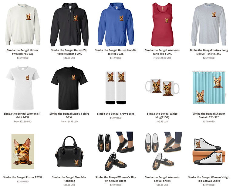 продажа продуктов через интернет на примере товаров simba - дропшиппинг