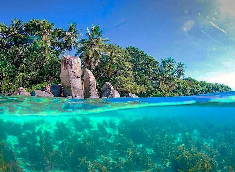 anse royale beach сейшельские острова маэ