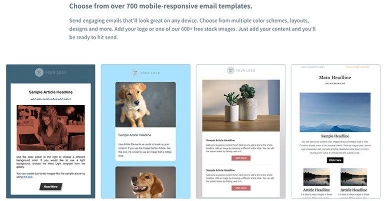 aweber шаблоны email сервиса