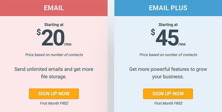 constantcontact цены на email рассылки
