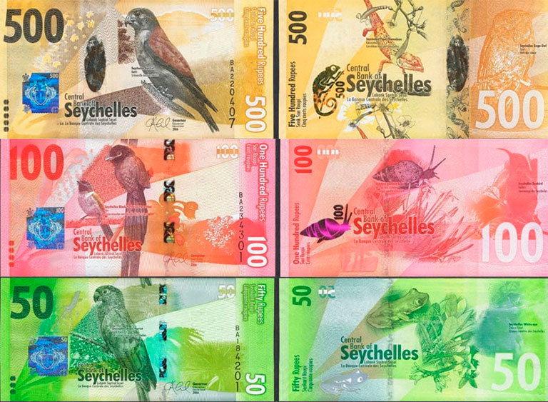 деньги сейшел - рупии