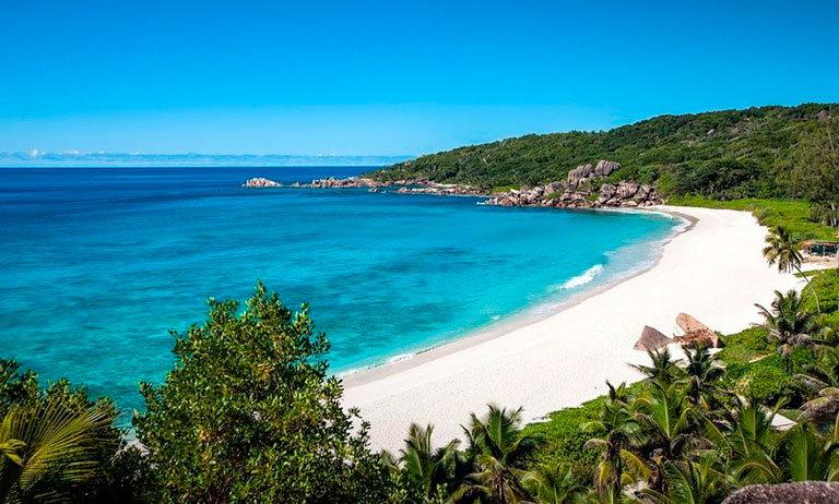 grand anse beach сейшелы маэ
