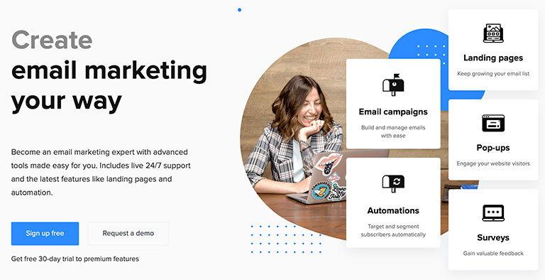 mailerlite email маркетинг