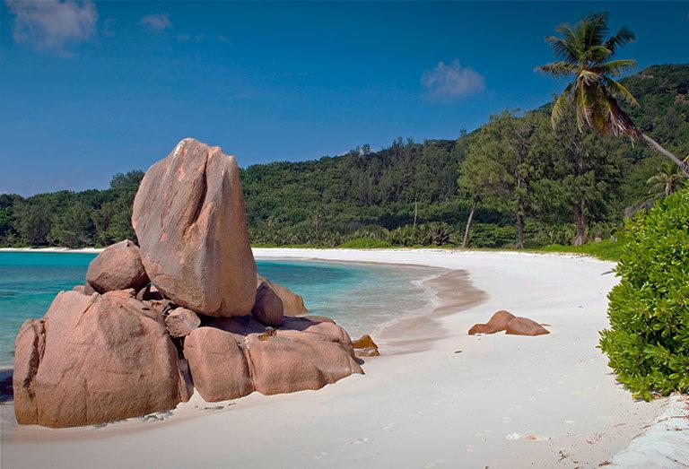 пляж anse coco beach ла диг
