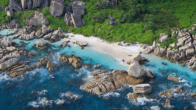 пляж anse lazio сейшельские острова праслин
