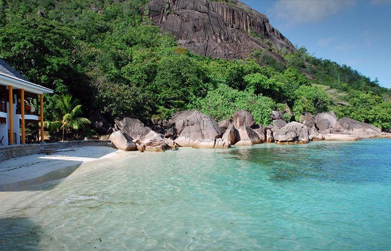 пляж anse volbert сейшелы праслин
