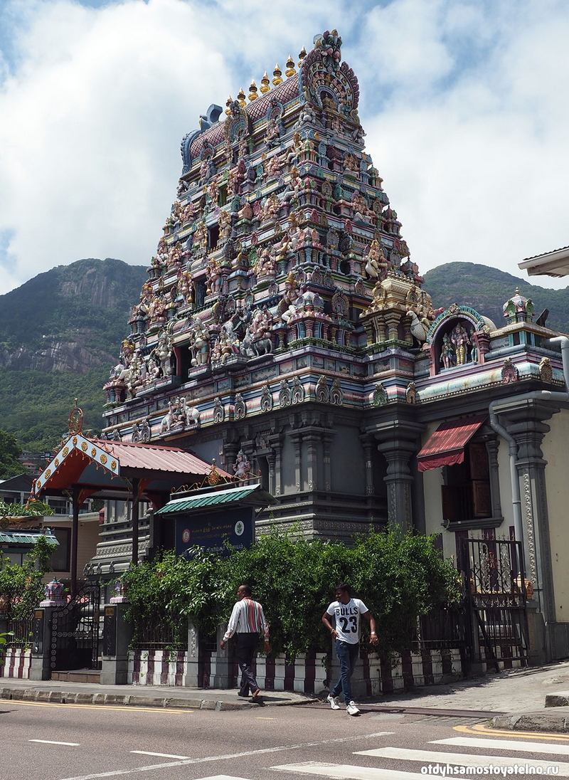 Tempio hindu - индуистский храм в Виктории