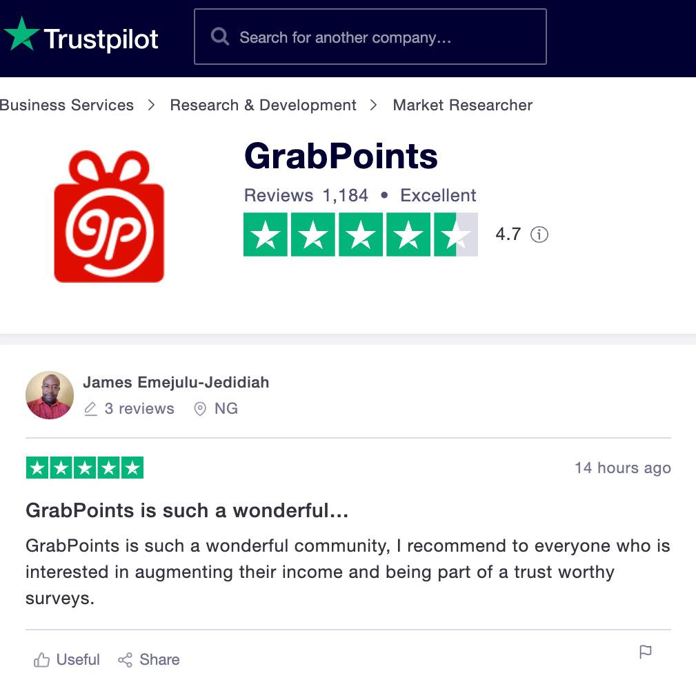 grabpoints отзывы