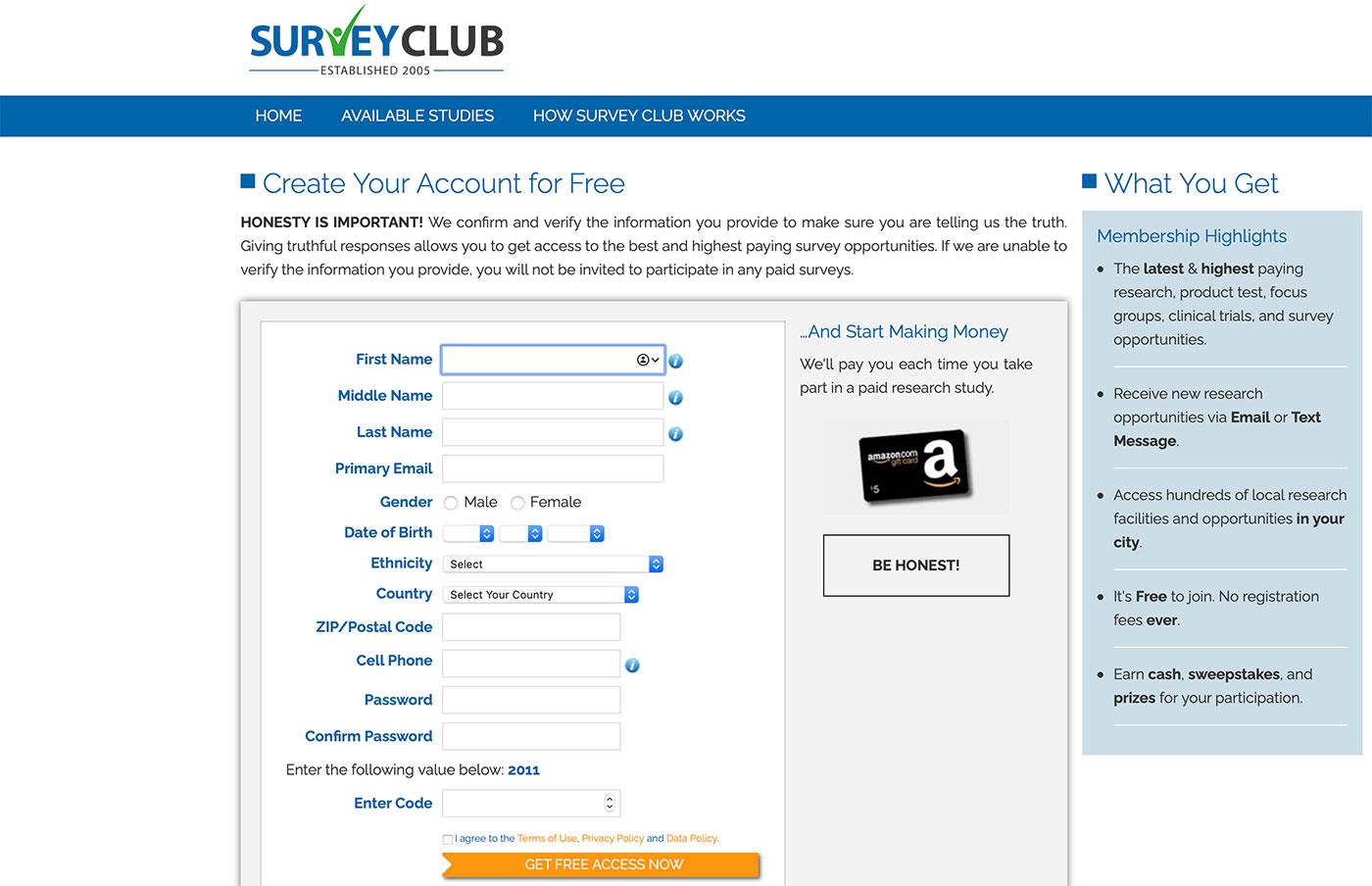 платные опросы surveyclub