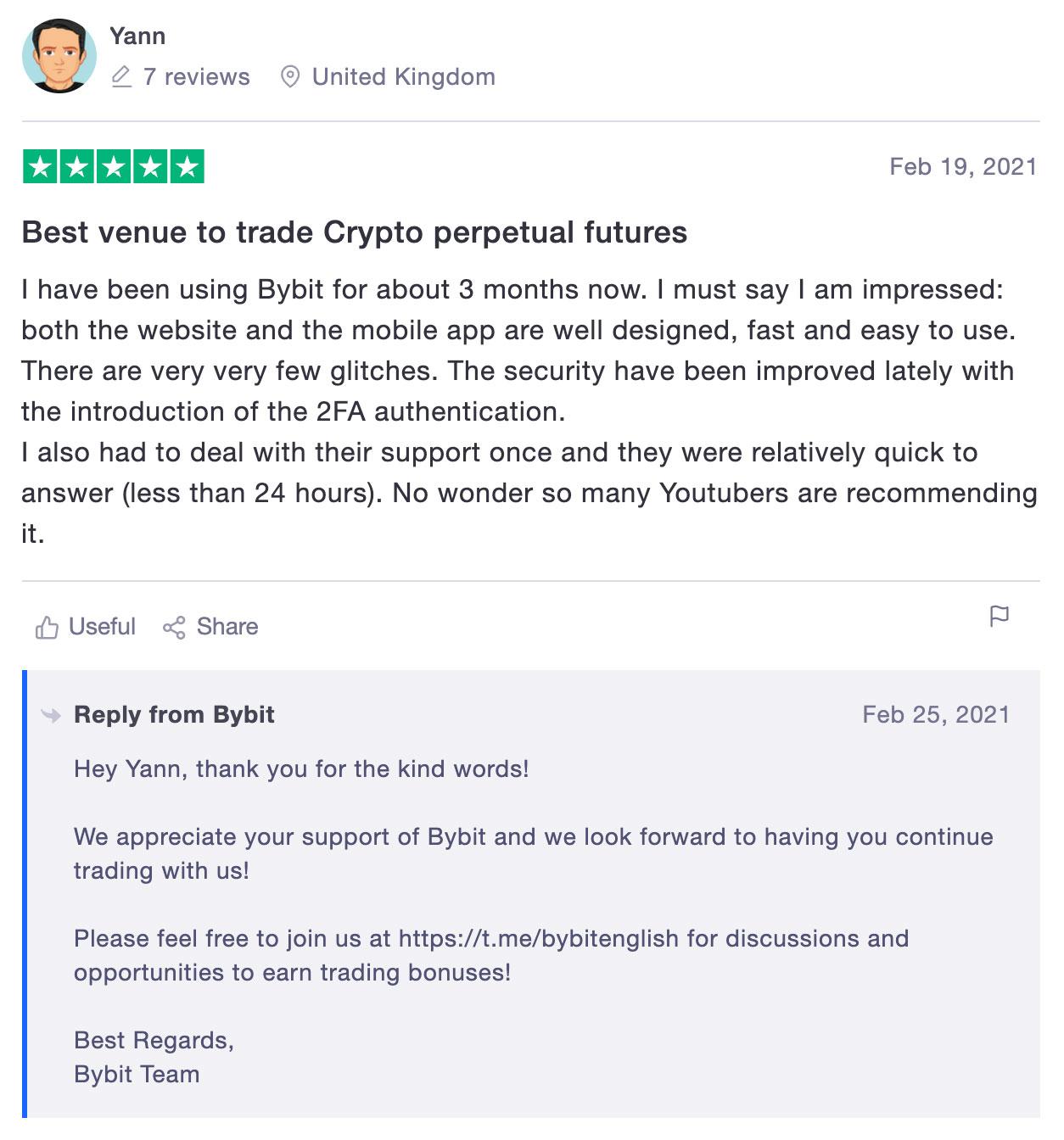 bybit отзывы биржа криптовалют