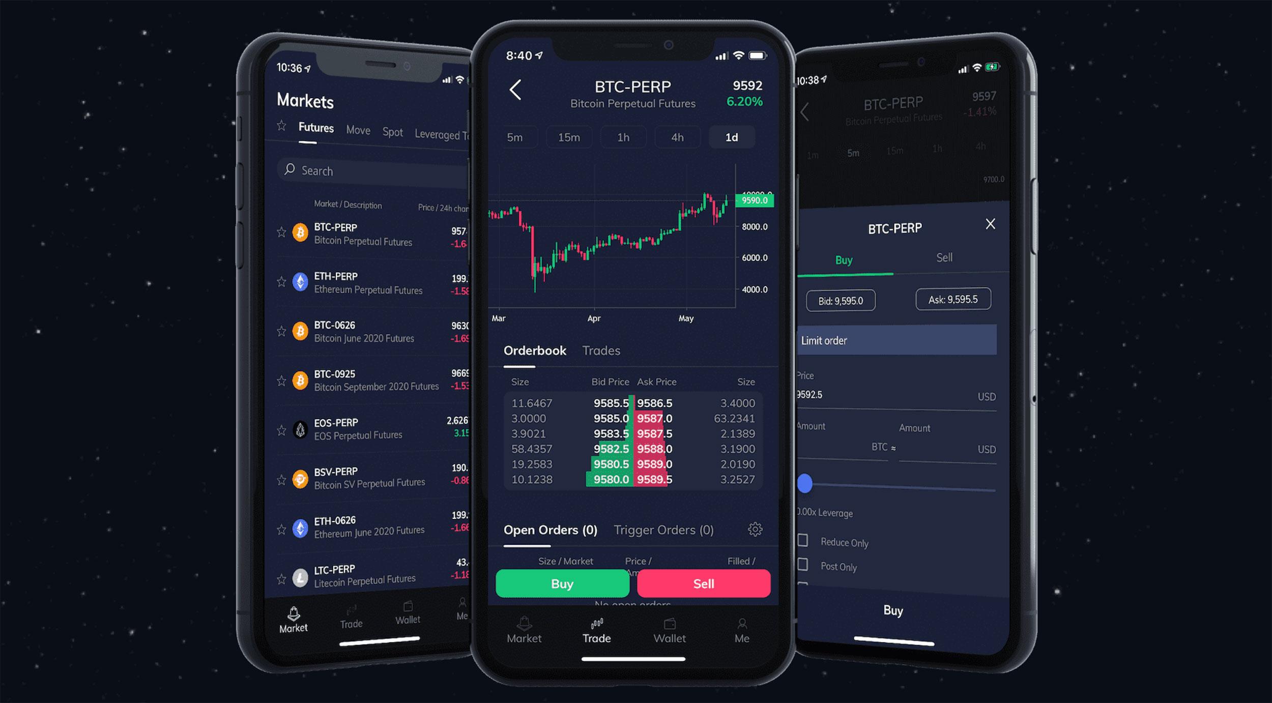 ftx мобильное приложение