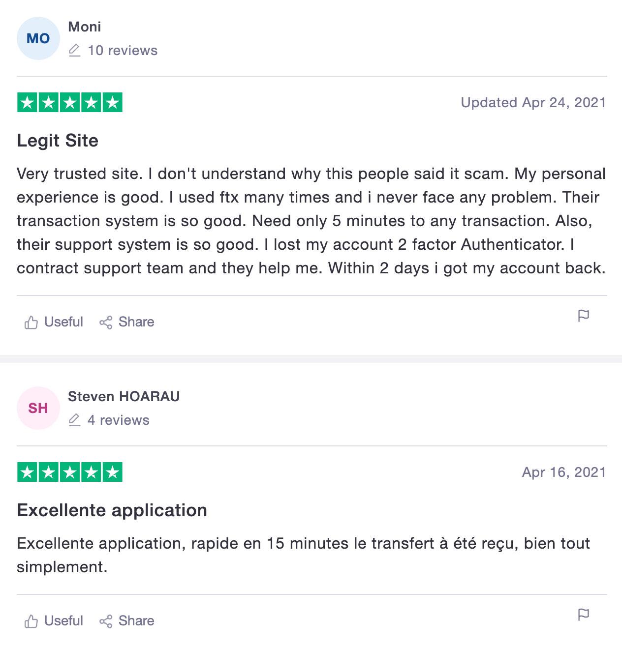 ftx отзывы биржа криптовалют