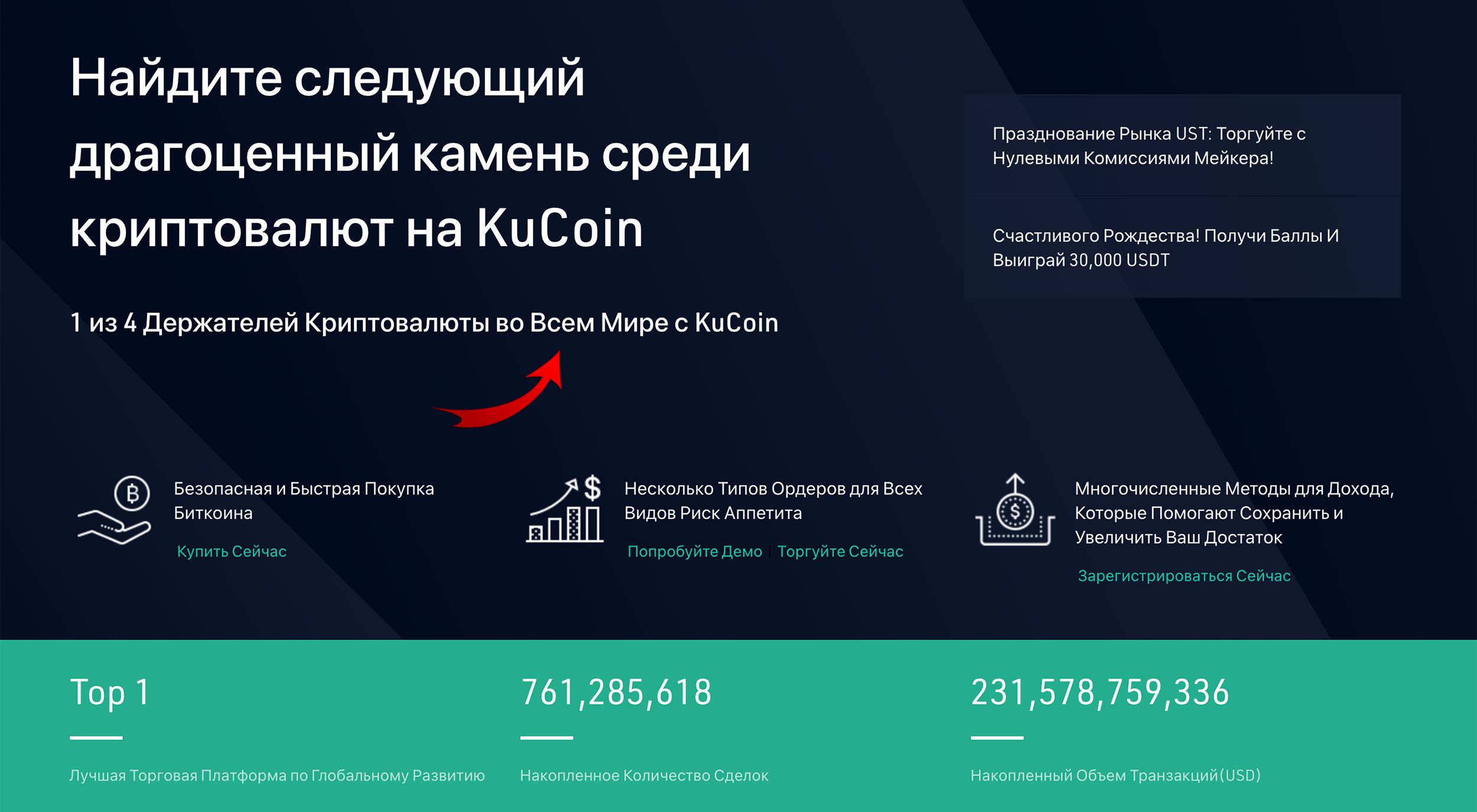 kucoin биржа криптовалют