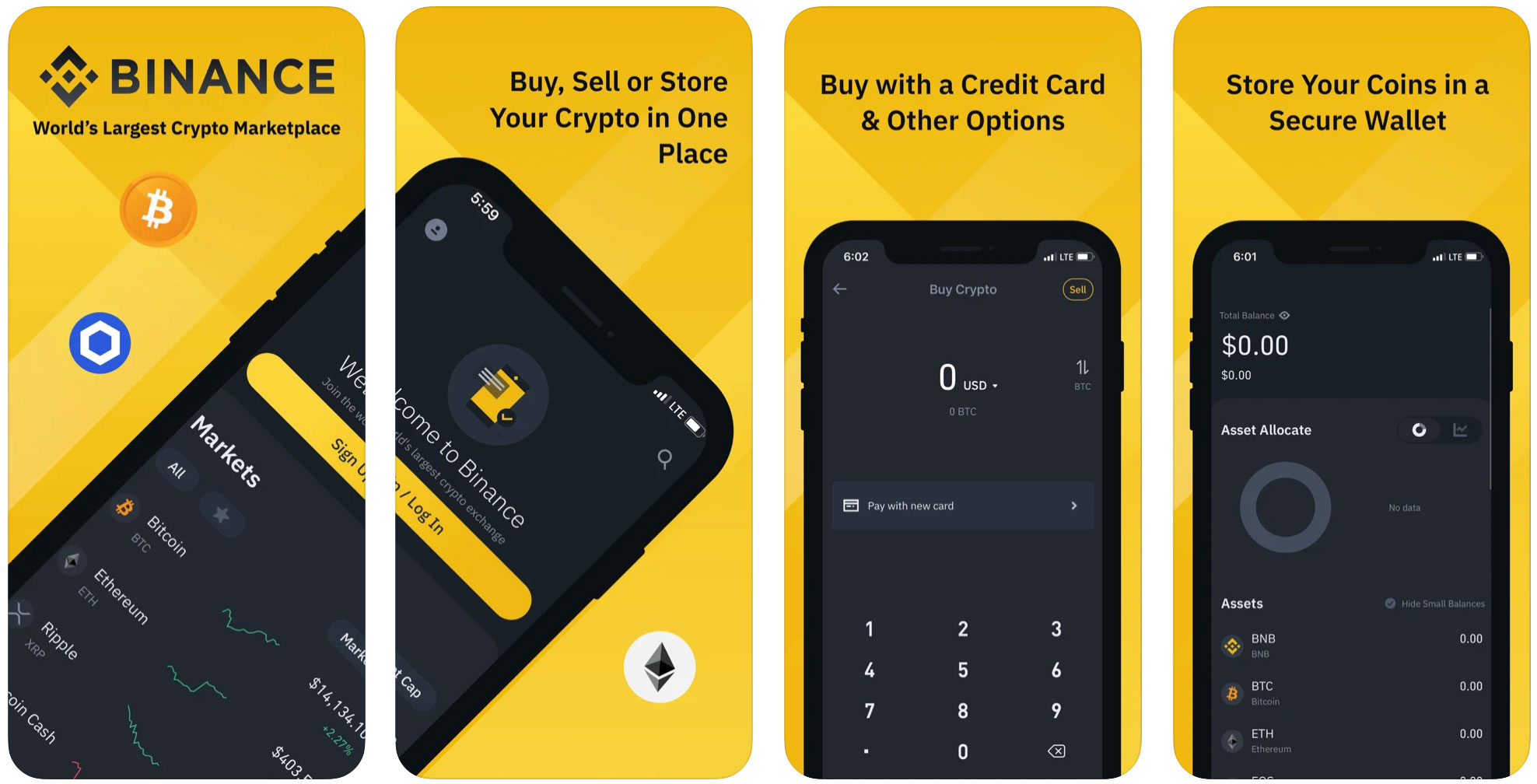 binance мобильное приложение