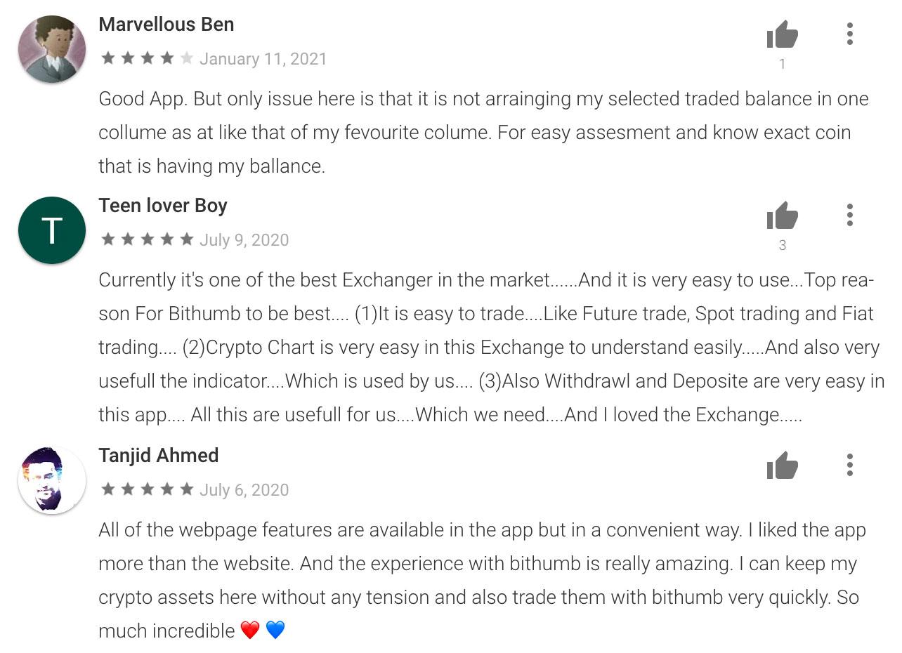 bithumb отзывы биржа криптовалют