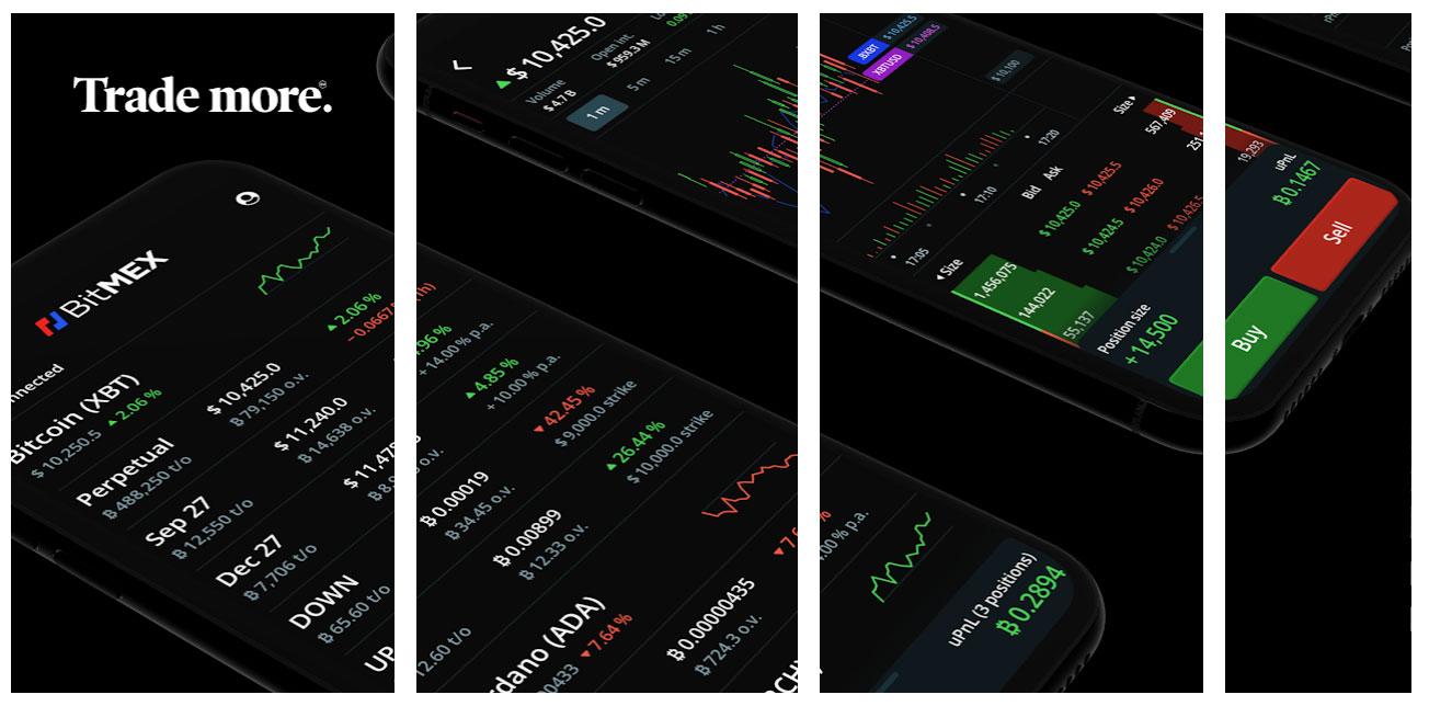 bitmex мобильное приложение