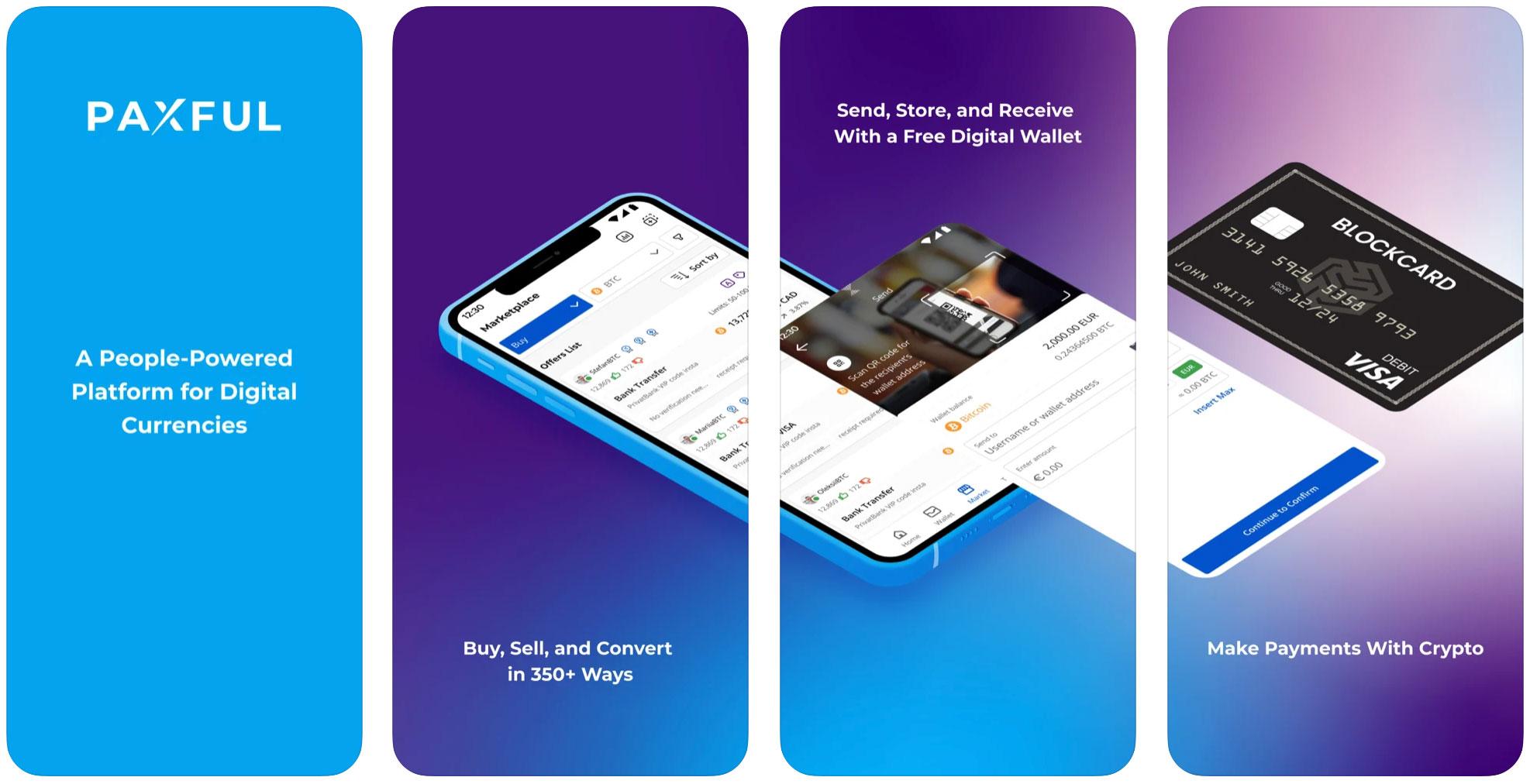 paxful мобильное приложение